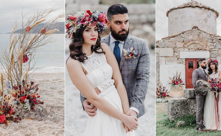 Atelier Zolotas | Παραθαλάσσιος γάμος - seaside wedding