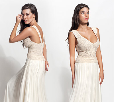 aslia wedding dress by Atelier Zolotas