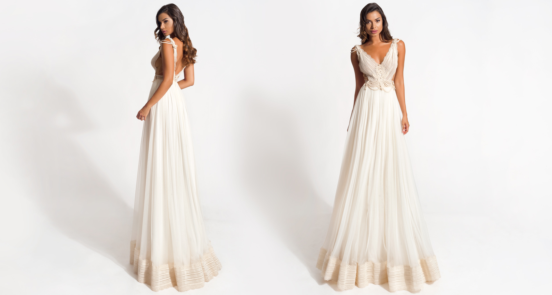 Aegle wedding dress from  Hellenic Vintage Origin Collection