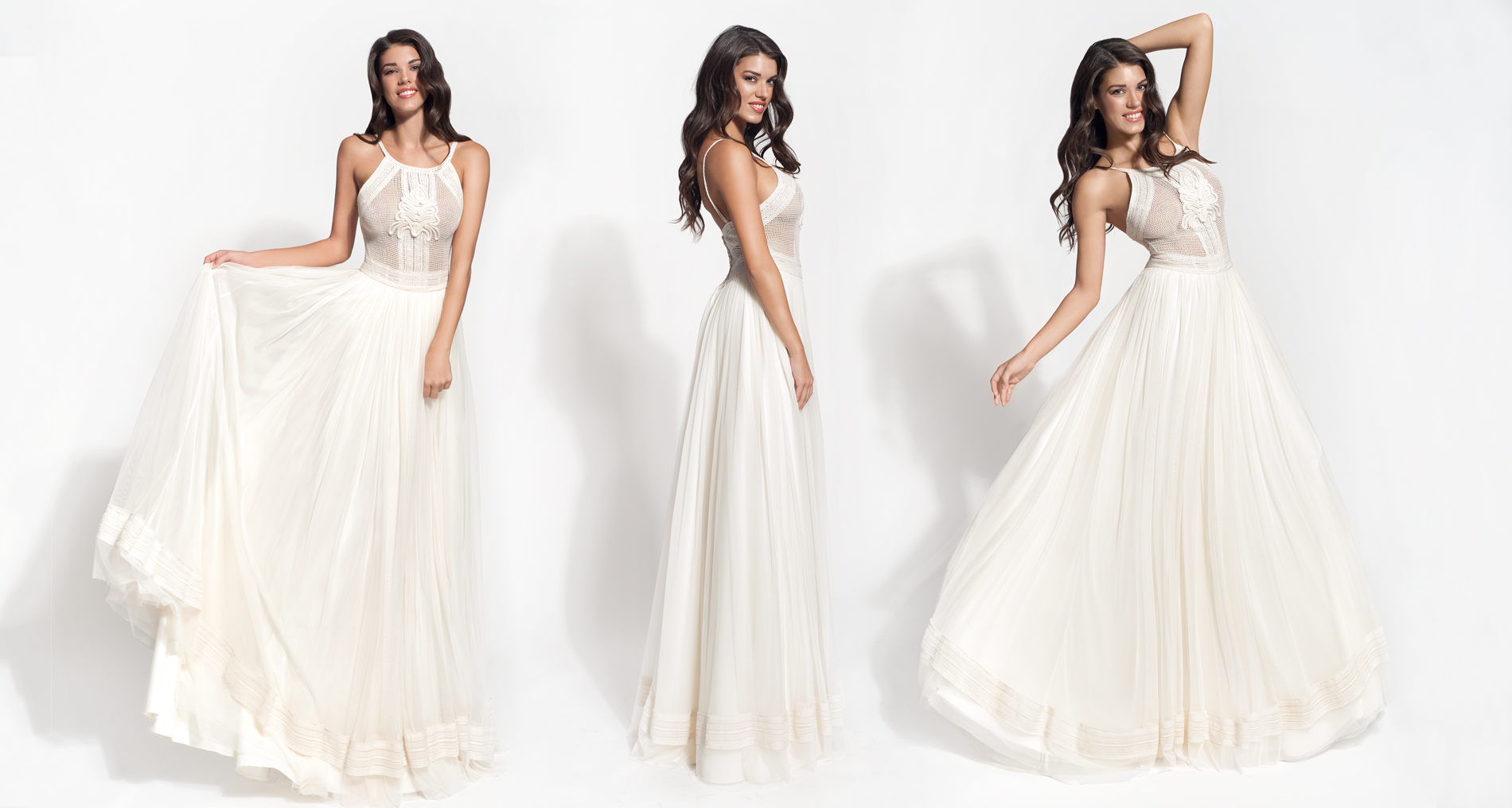 Antheia wedding dress from  Hellenic Vintage Core Collection