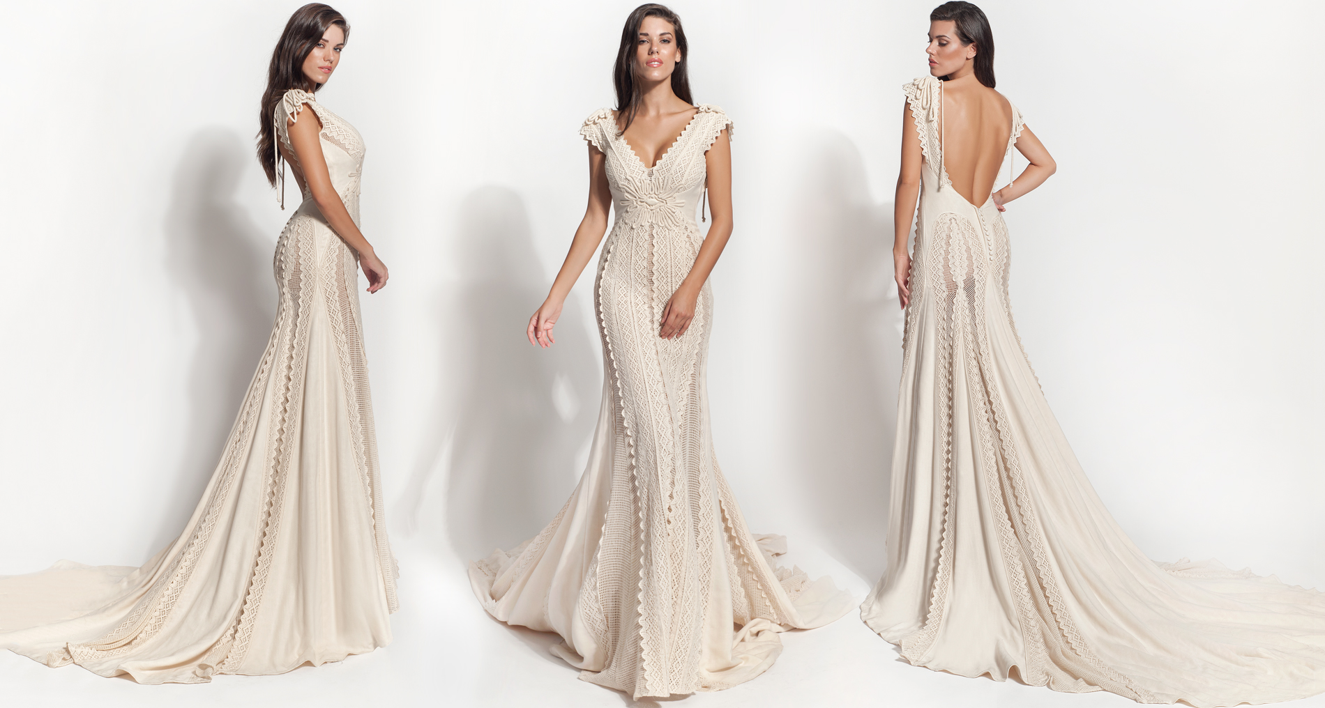 Arathea wedding dress from  Hellenic Vintage Core Collection