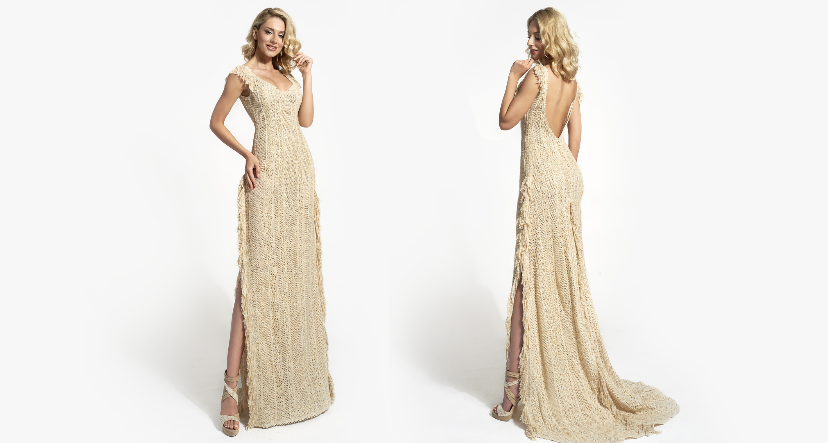 Artemisia Opulence wedding dress from  Hellenic Vintage Opulence Collection