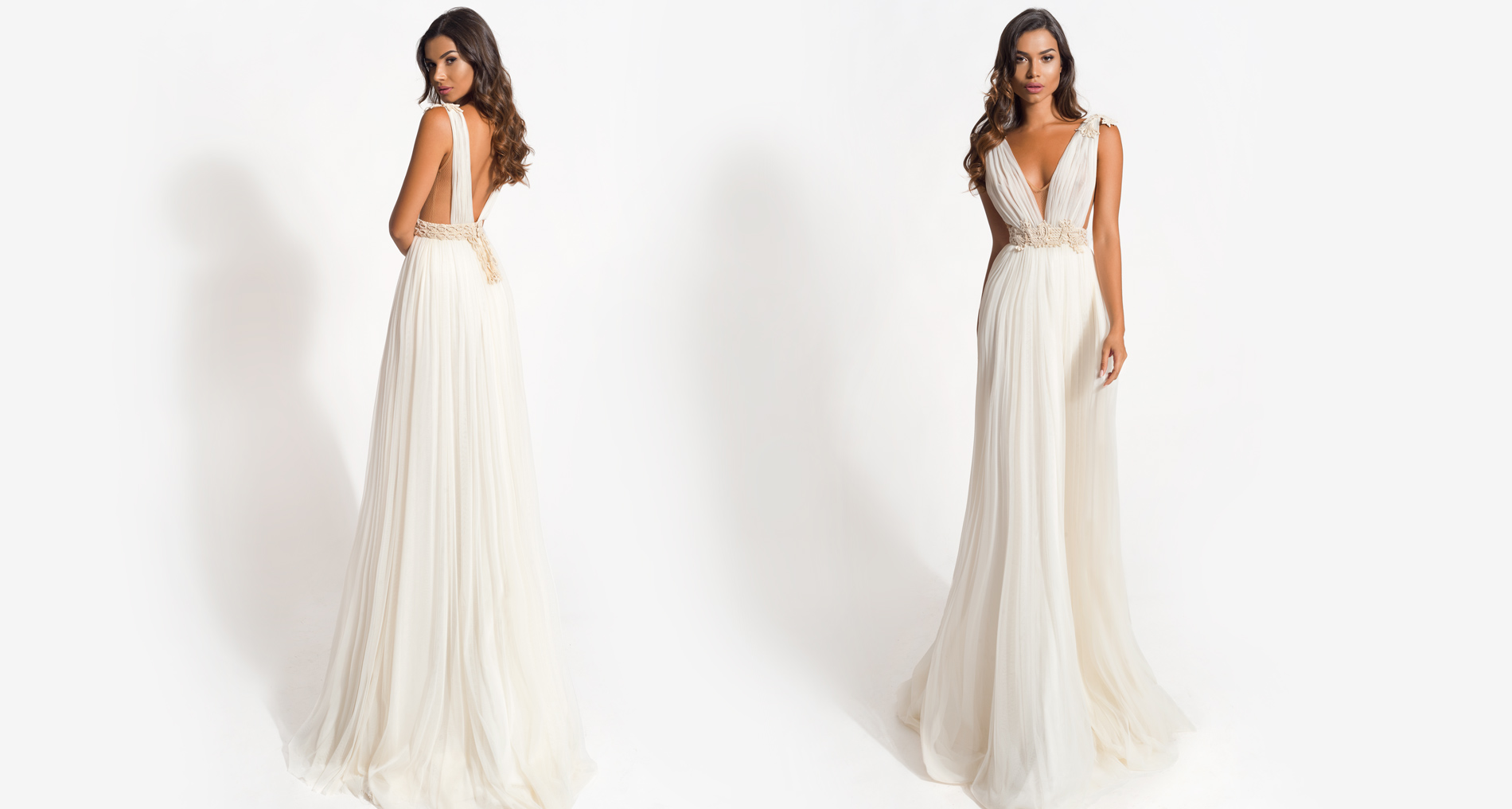 Arya wedding dress from  Hellenic Vintage Origin Collection