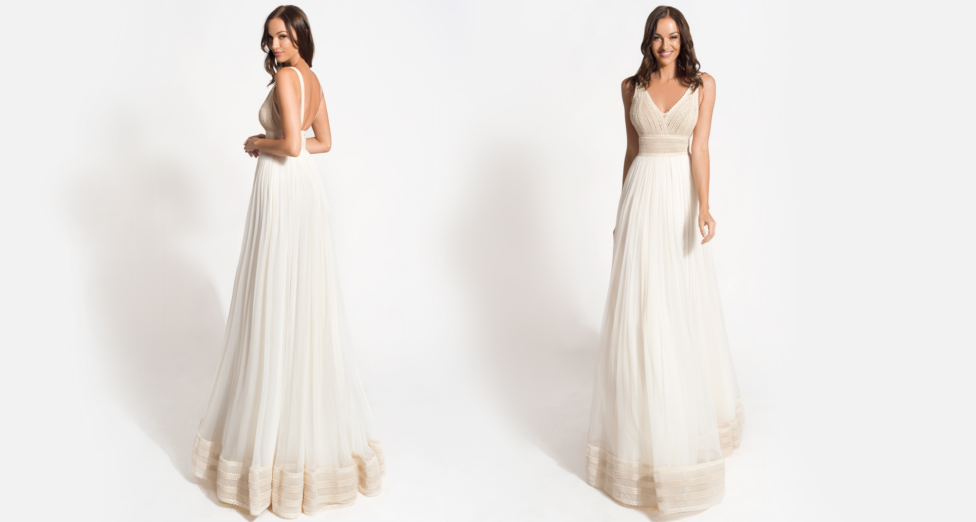 Asteria wedding dress from  Hellenic Vintage Origin Collection
