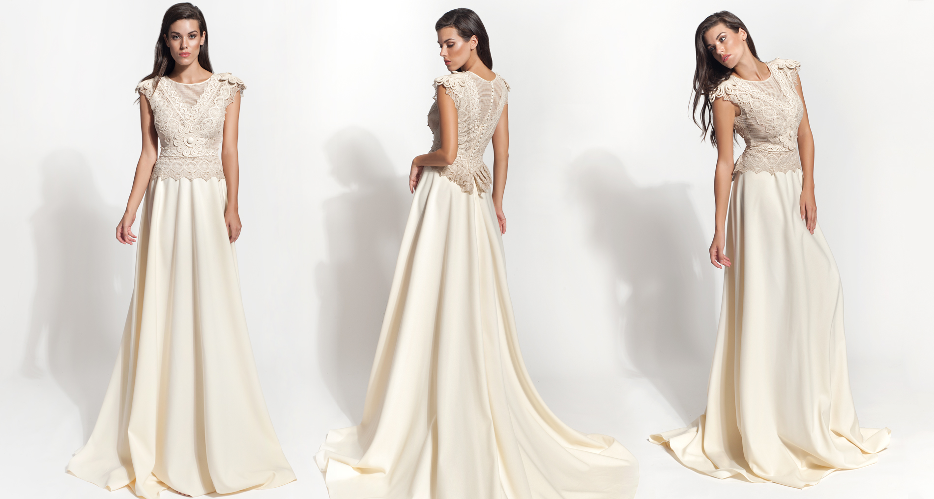 Avesia wedding dress from  Hellenic Vintage Core Collection