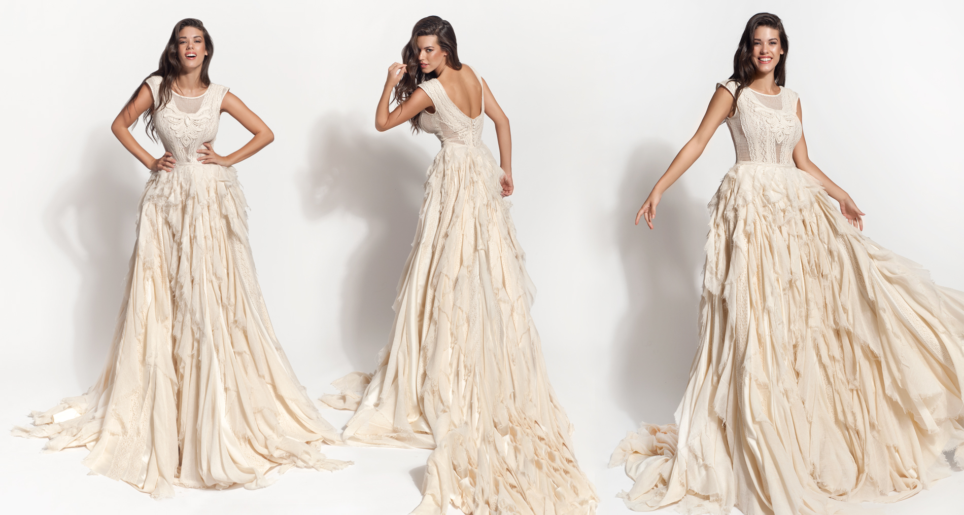 Calypso wedding dress from  Hellenic Vintage Core Collection