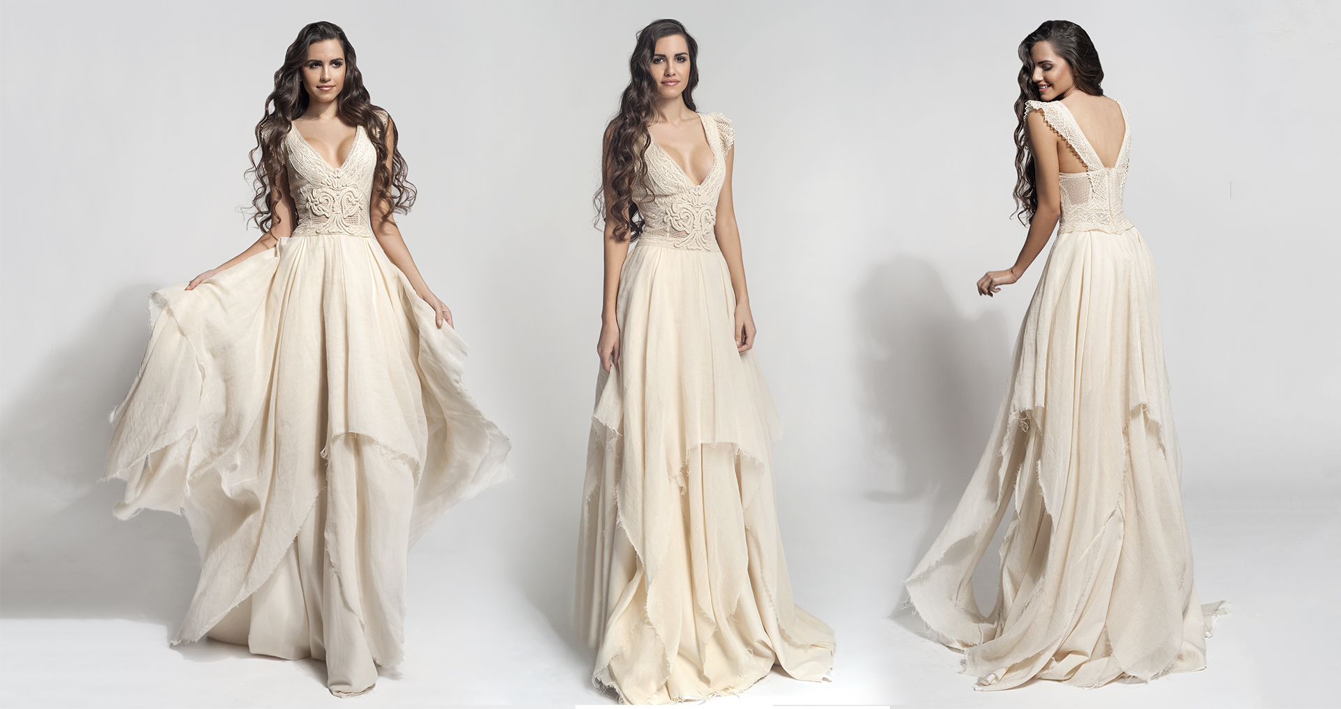 Cloe wedding dress from  Hellenic Vintage Core Collection