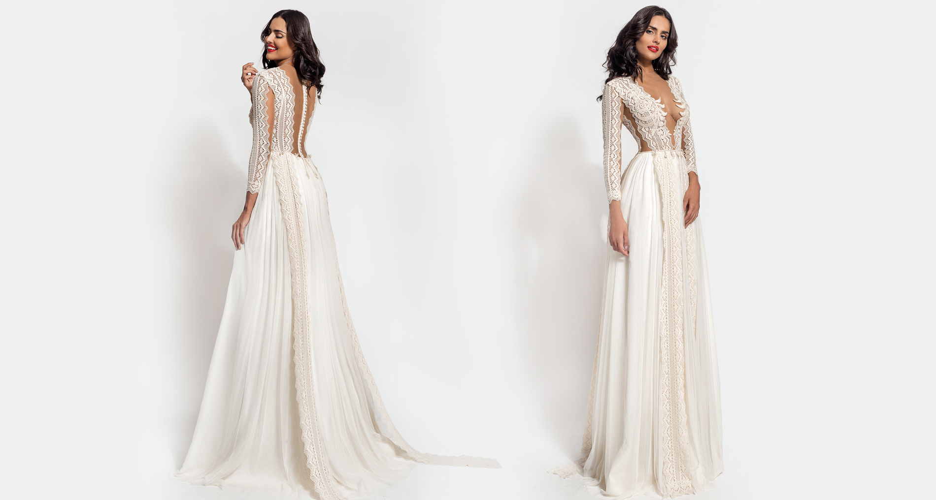 Cybele wedding dress from  Hellenic Vintage Essence Collection