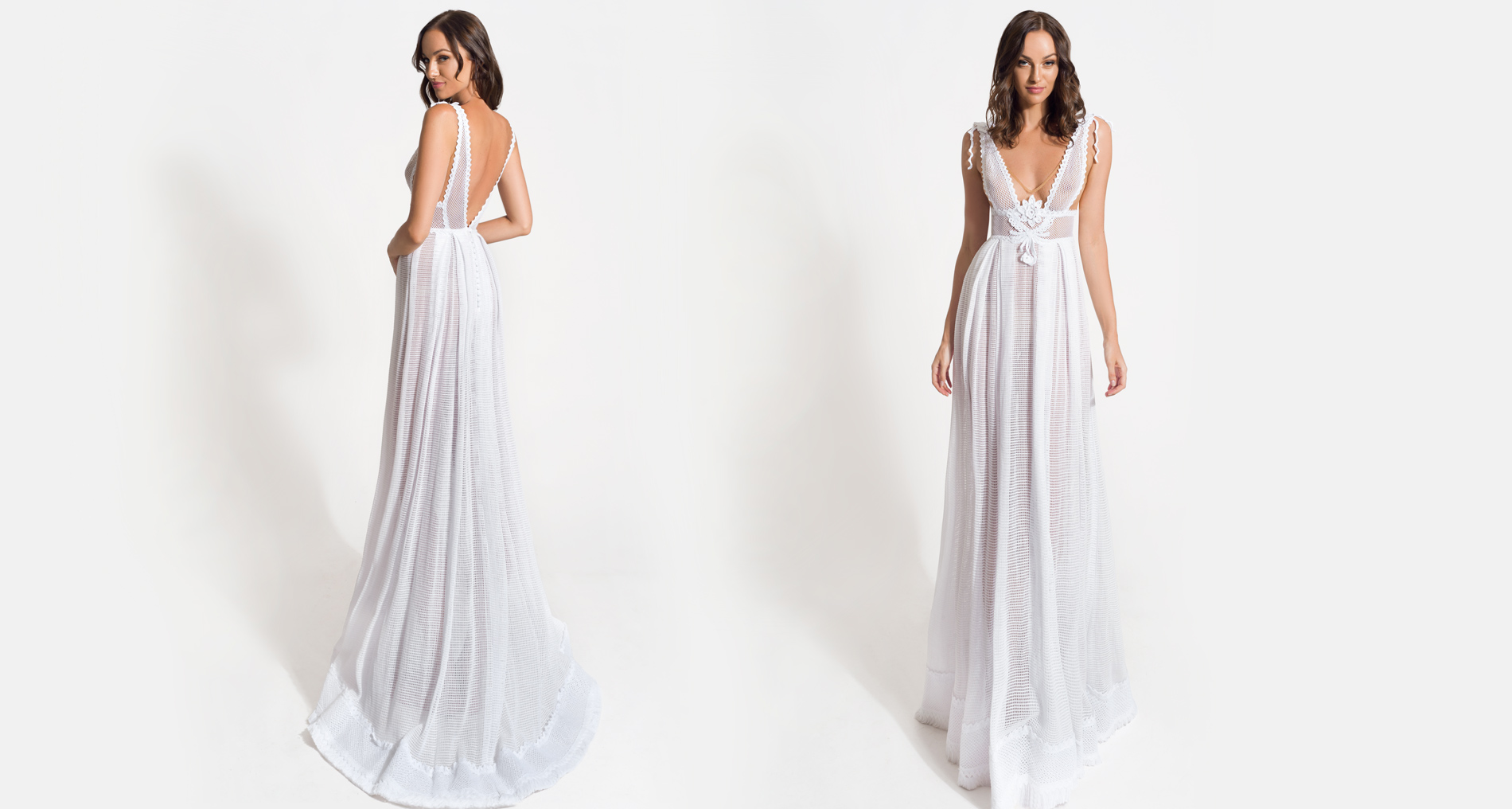 Electra wedding dress from  Hellenic Vintage Origin Collection