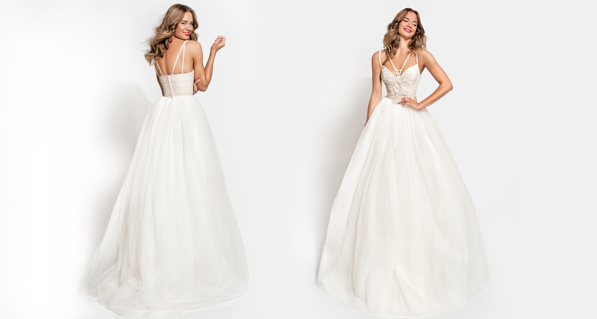 Elysia wedding dress from  Hellenic Vintage Essence Collection