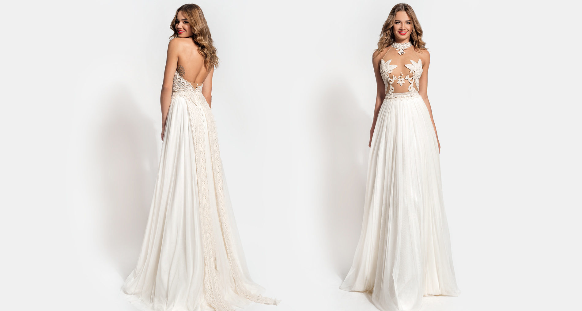 Enyo wedding dress from  Hellenic Vintage Essence Collection