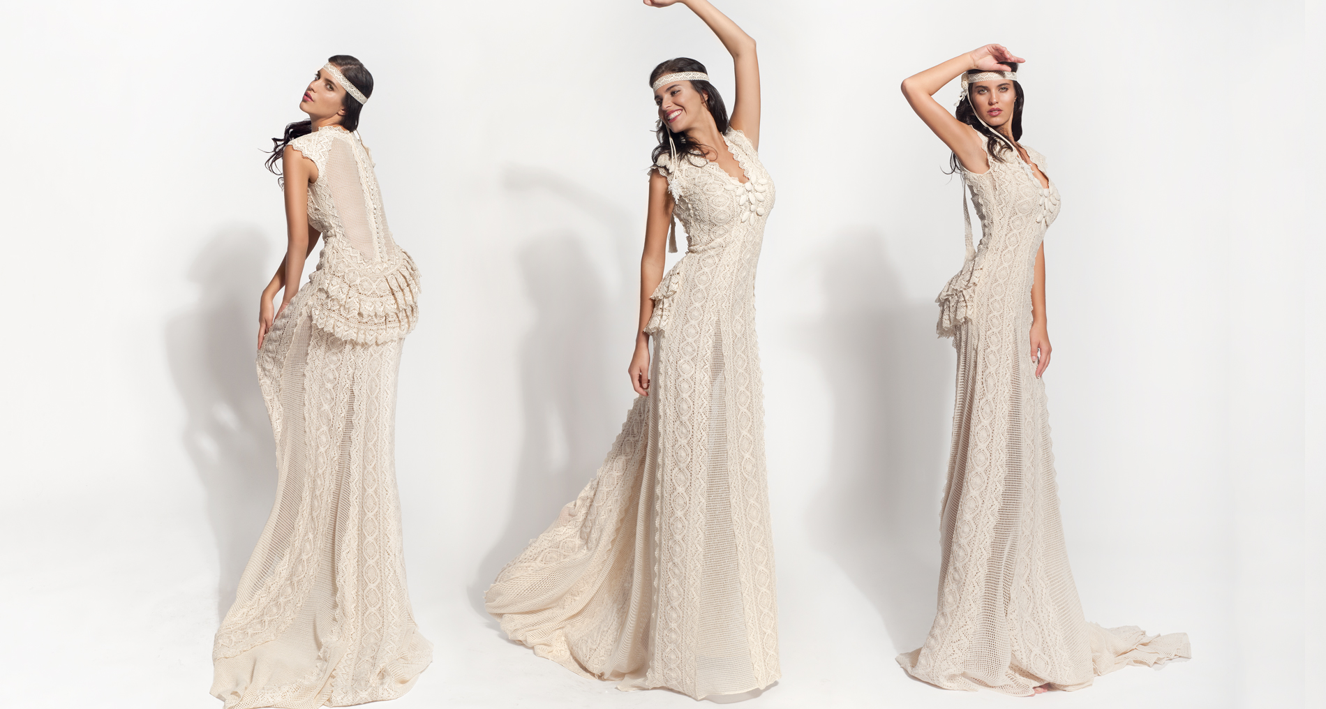 Ephimia wedding dress from  Hellenic Vintage Core Collection