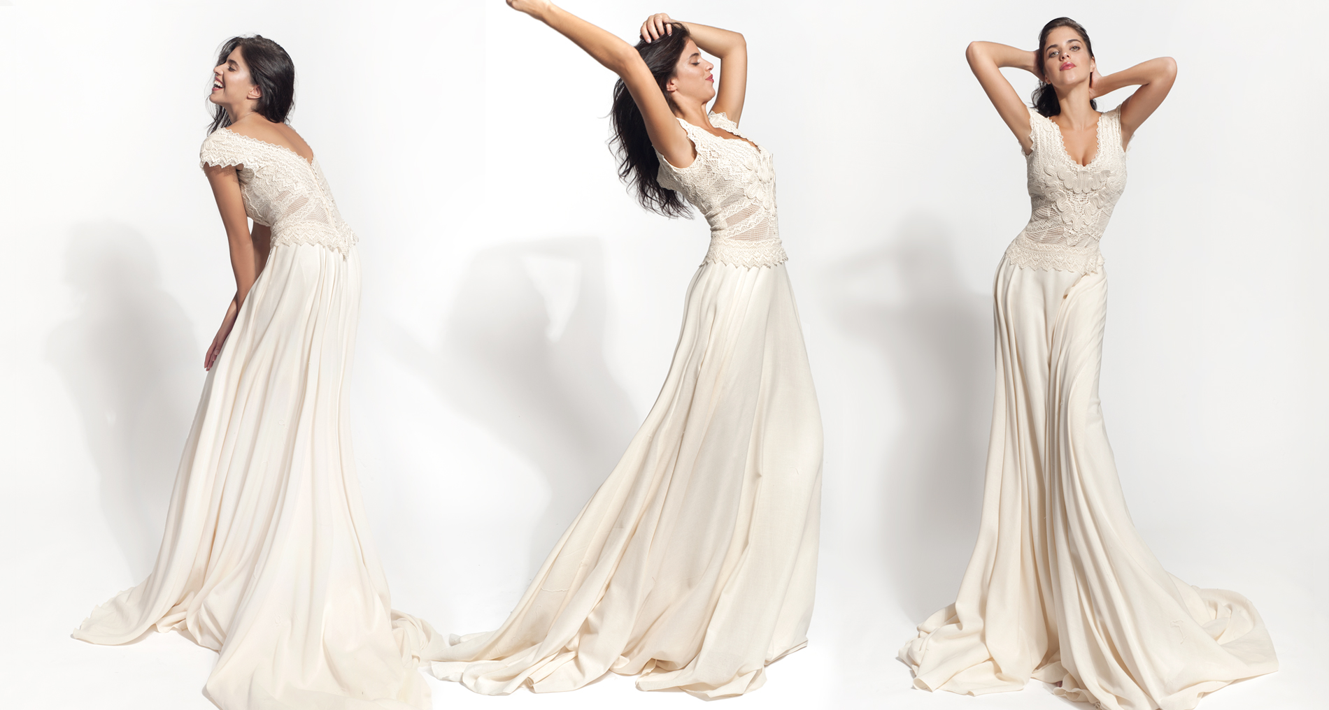 Eris wedding dress from  Hellenic Vintage Core Collection