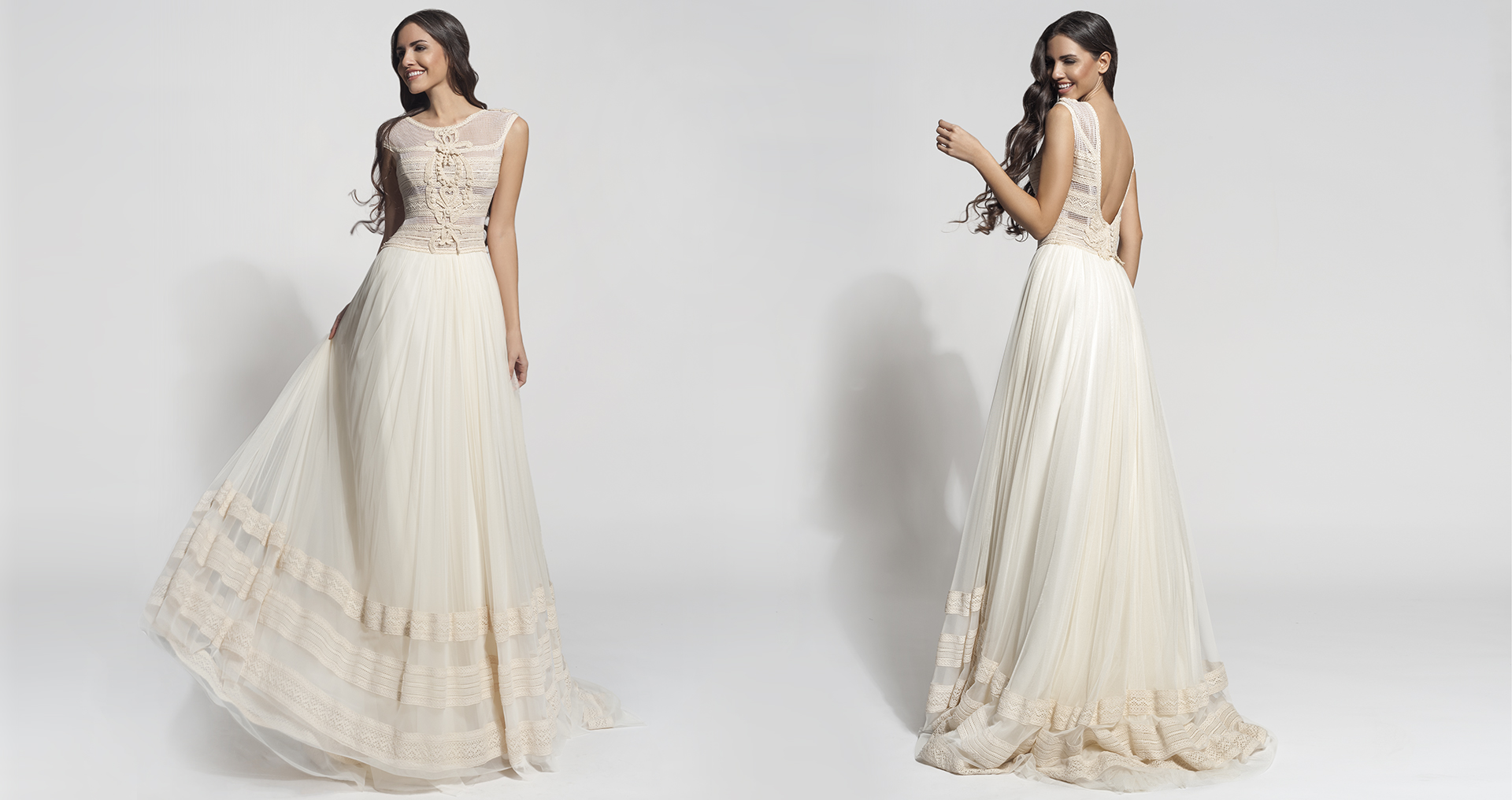 Gaiya wedding dress from  Hellenic Vintage Core Collection