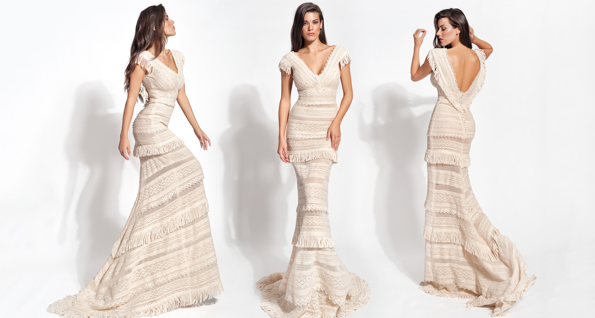 Iliani wedding dress from  Hellenic Vintage Core Collection