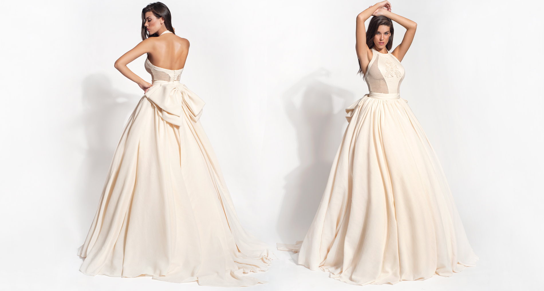 Ioli wedding dress from  Hellenic Vintage Core Collection