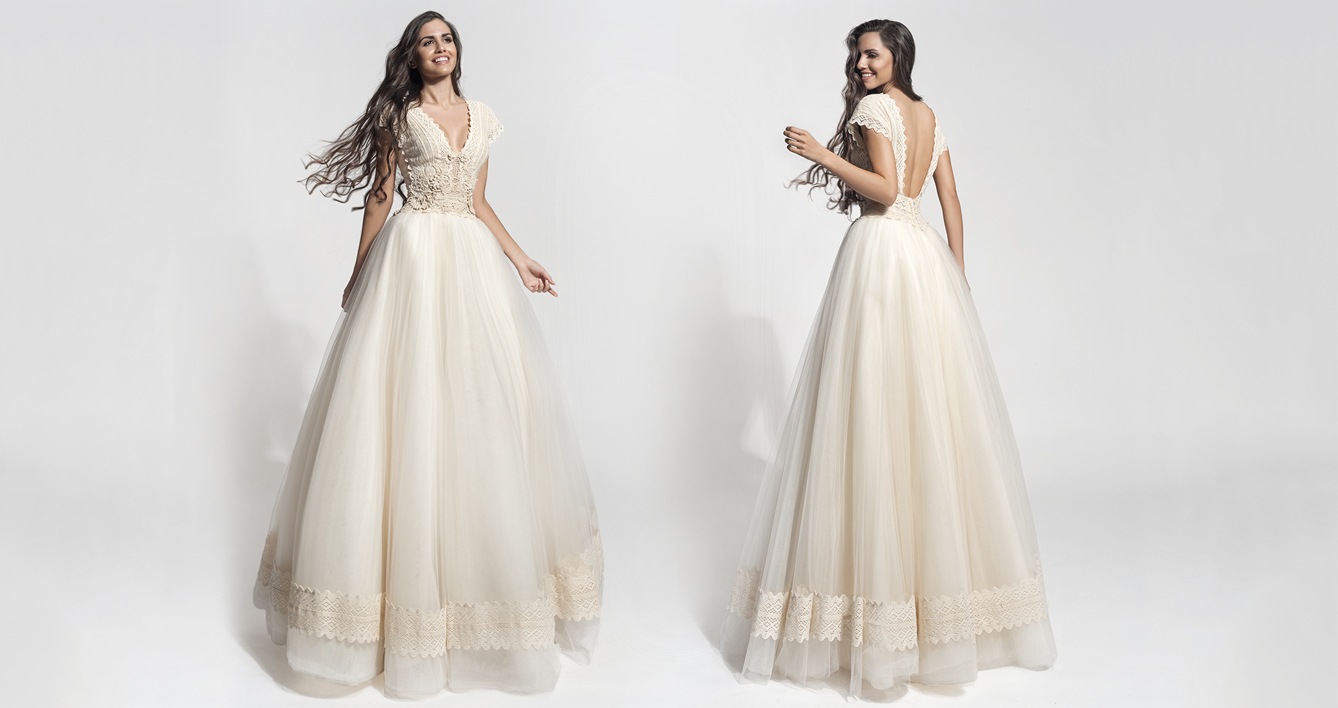 Isida wedding dress from  Hellenic Vintage Core Collection