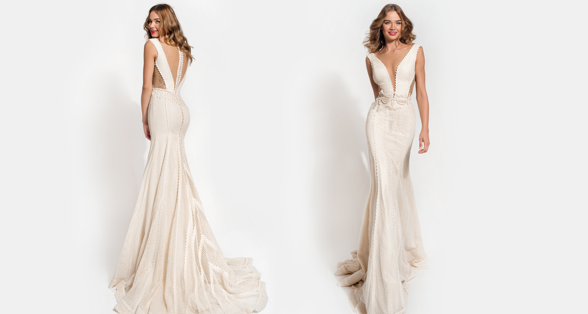 Juno wedding dress from  Hellenic Vintage Essence Collection