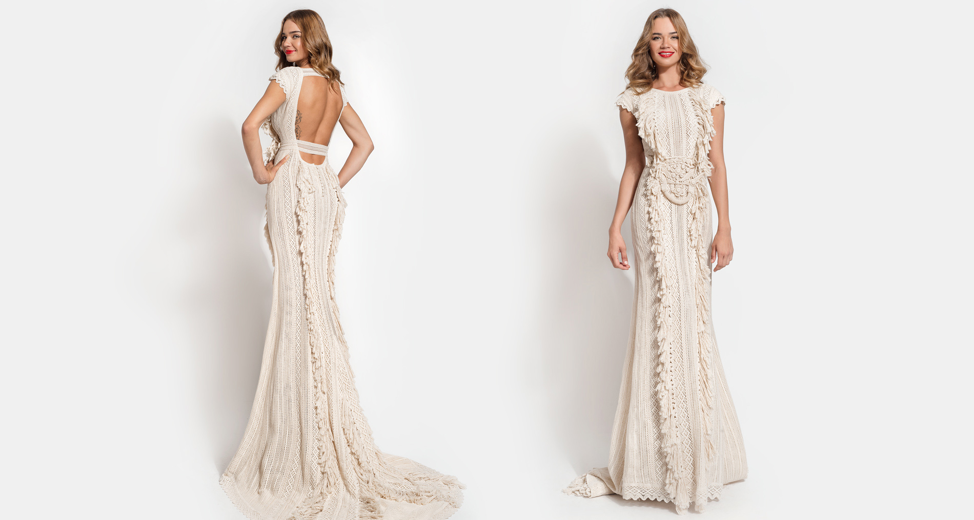 Kalisi wedding dress from  Hellenic Vintage Essence Collection
