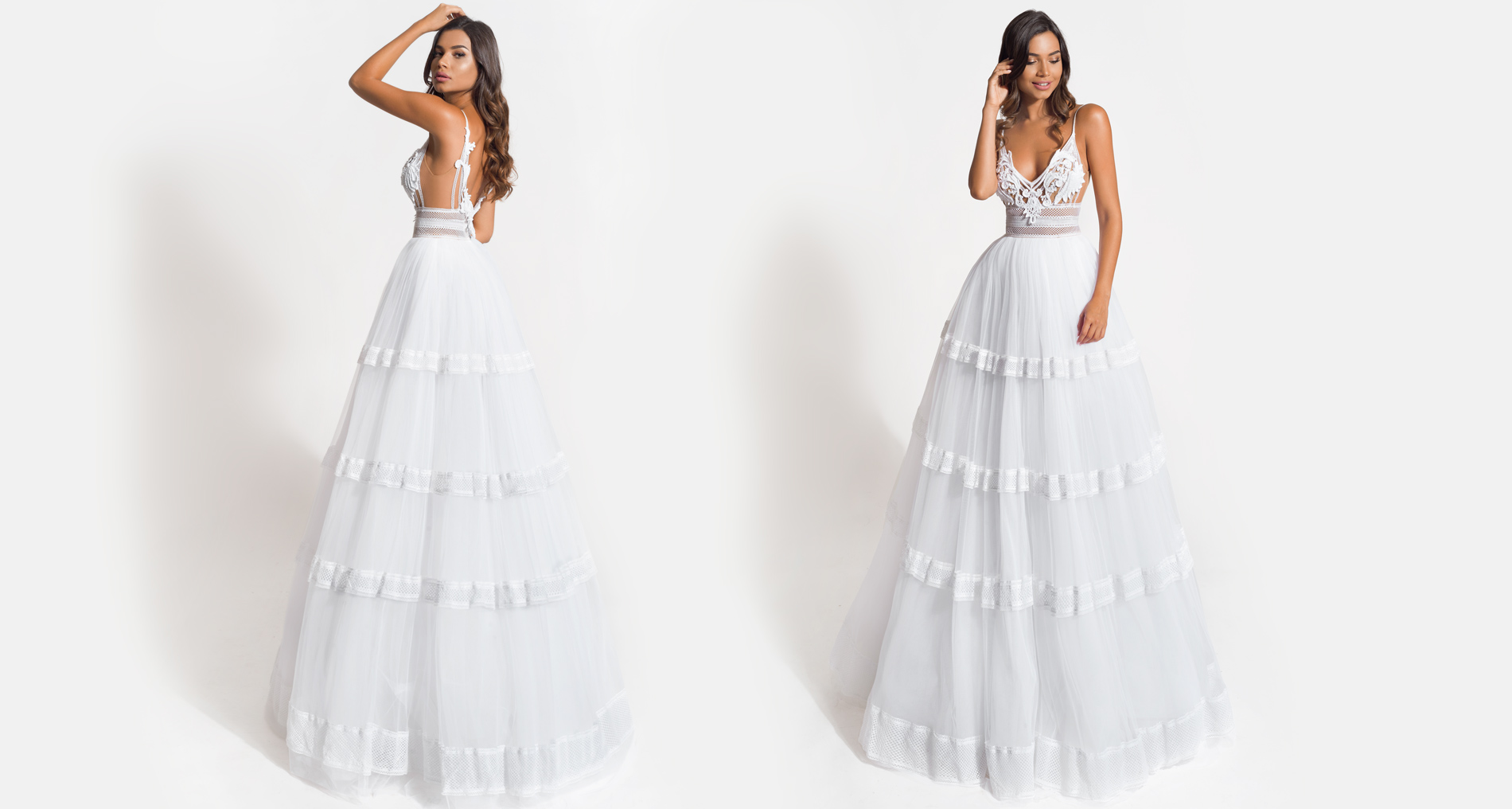 Lydia wedding dress from  Hellenic Vintage Origin Collection