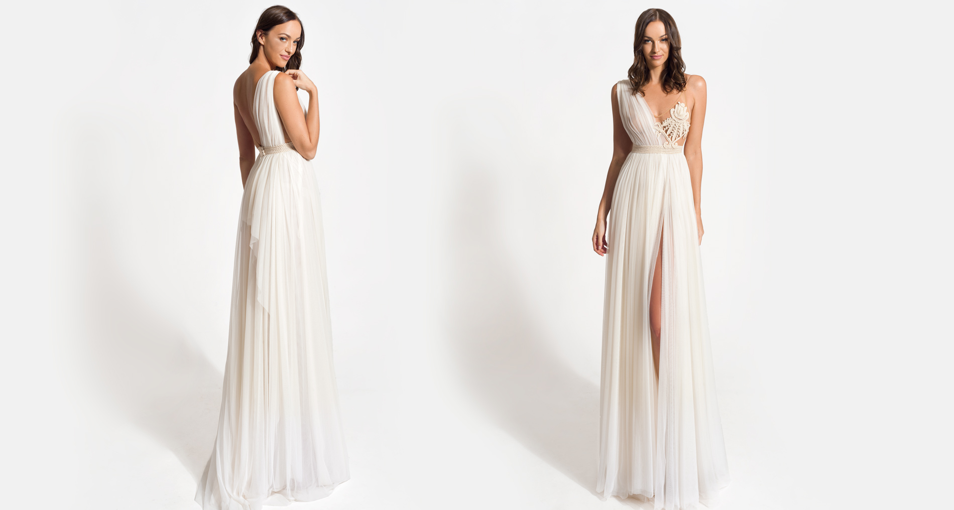Lyto wedding dress from  Hellenic Vintage Origin Collection