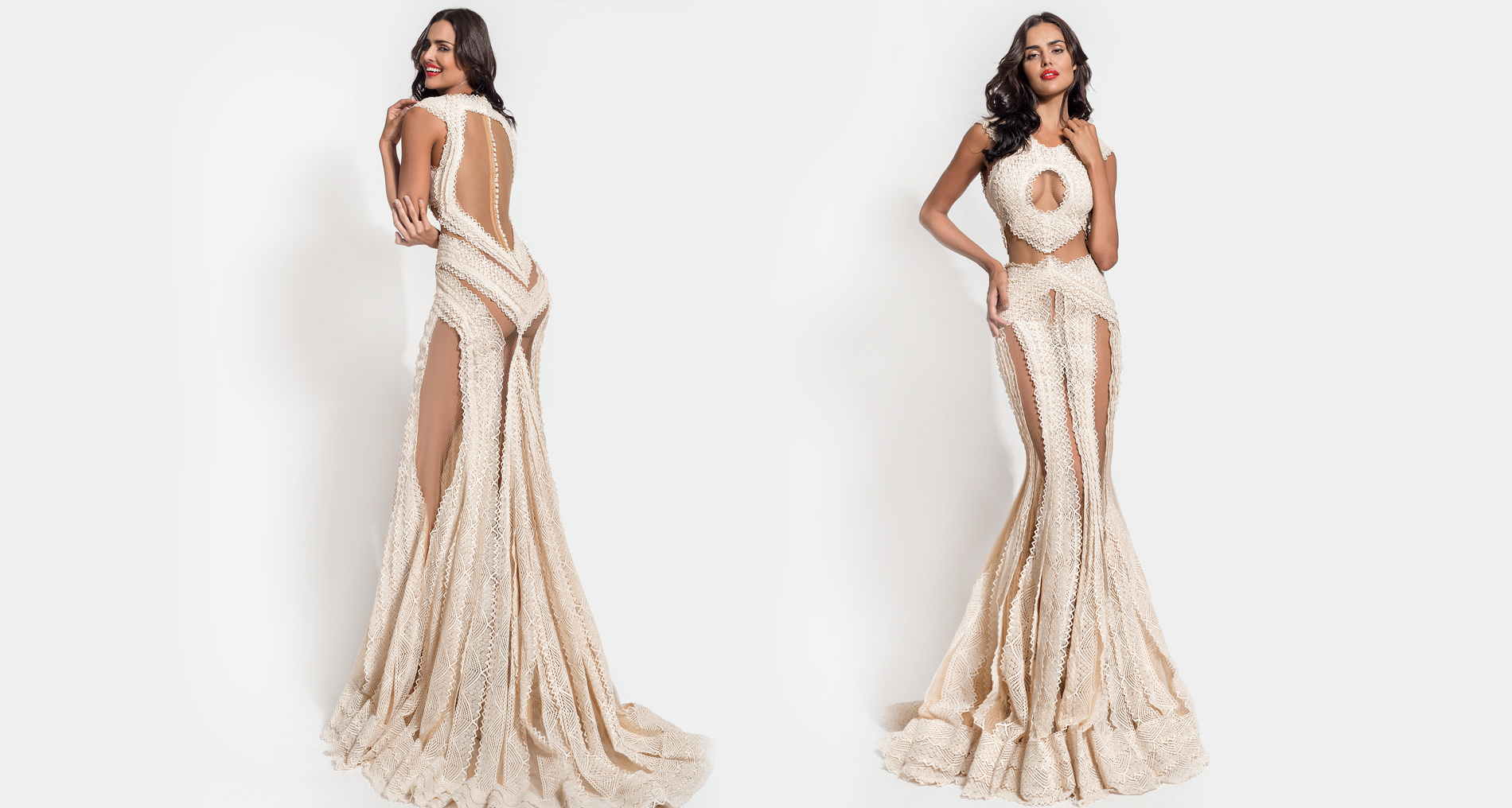 Mayia wedding dress from  Hellenic Vintage Essence Collection