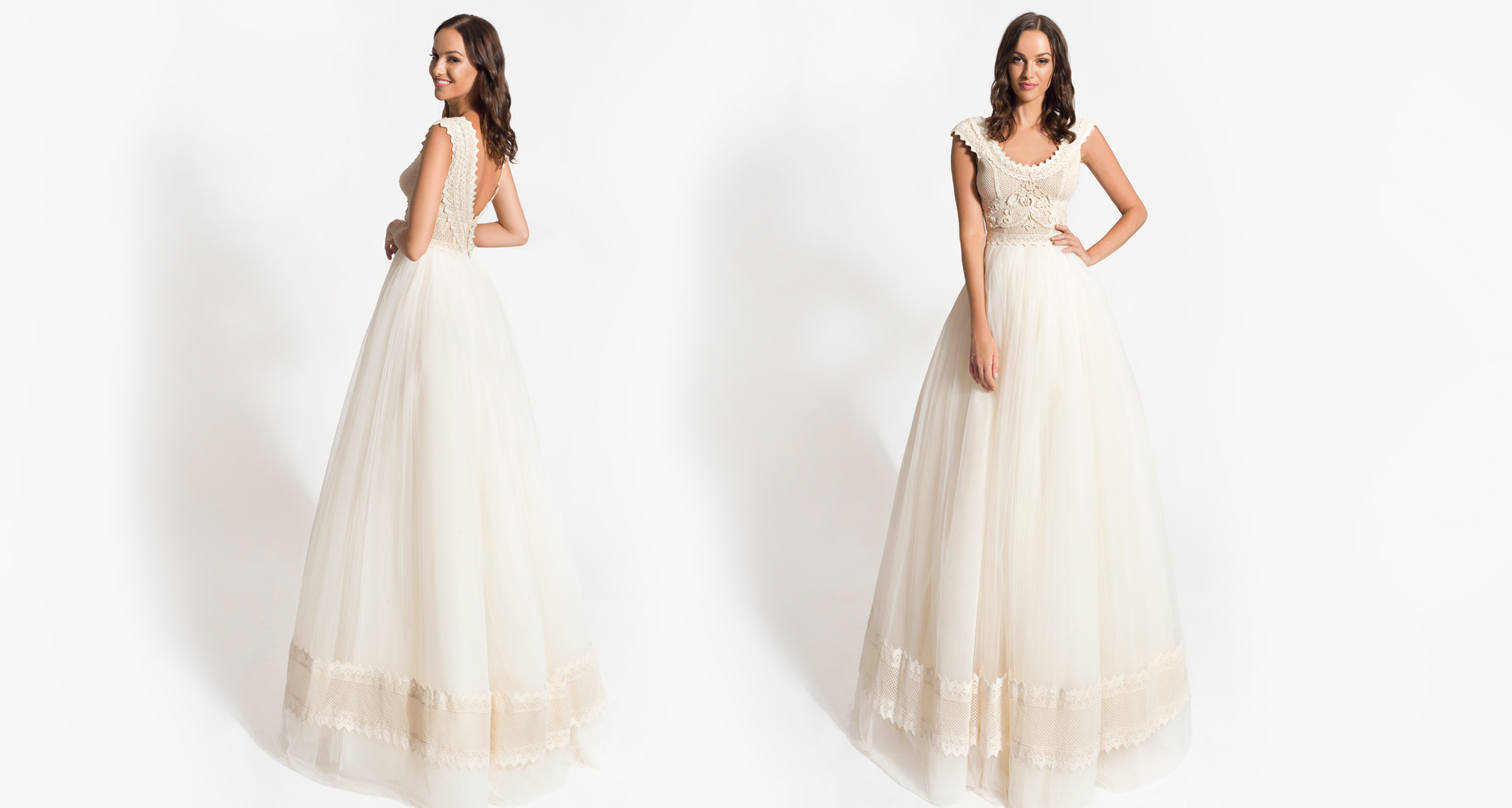 Orestia wedding dress from  Hellenic Vintage Origin Collection