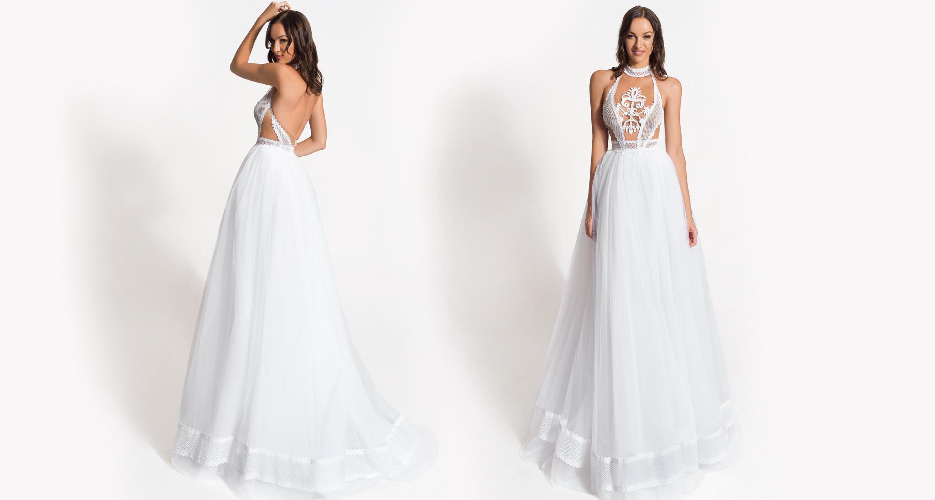 Pandora wedding dress from  Hellenic Vintage Origin Collection