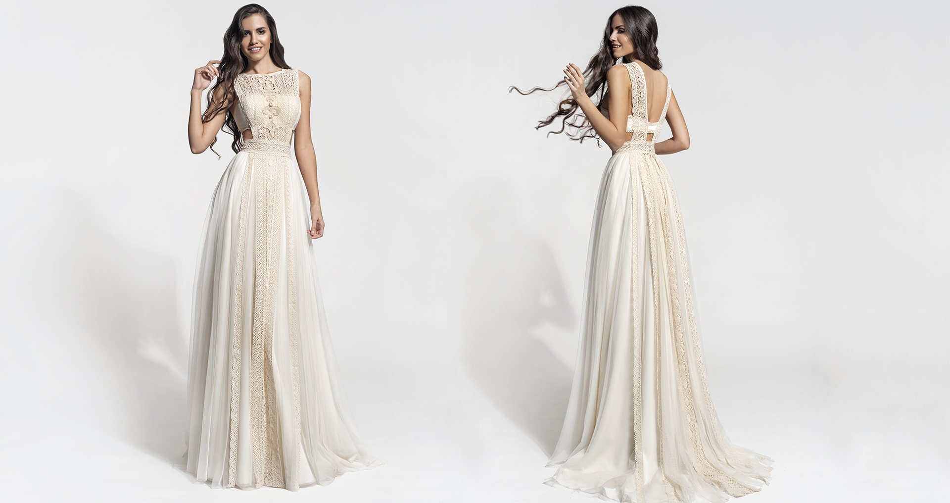Phillys wedding dress from  Hellenic Vintage Core Collection