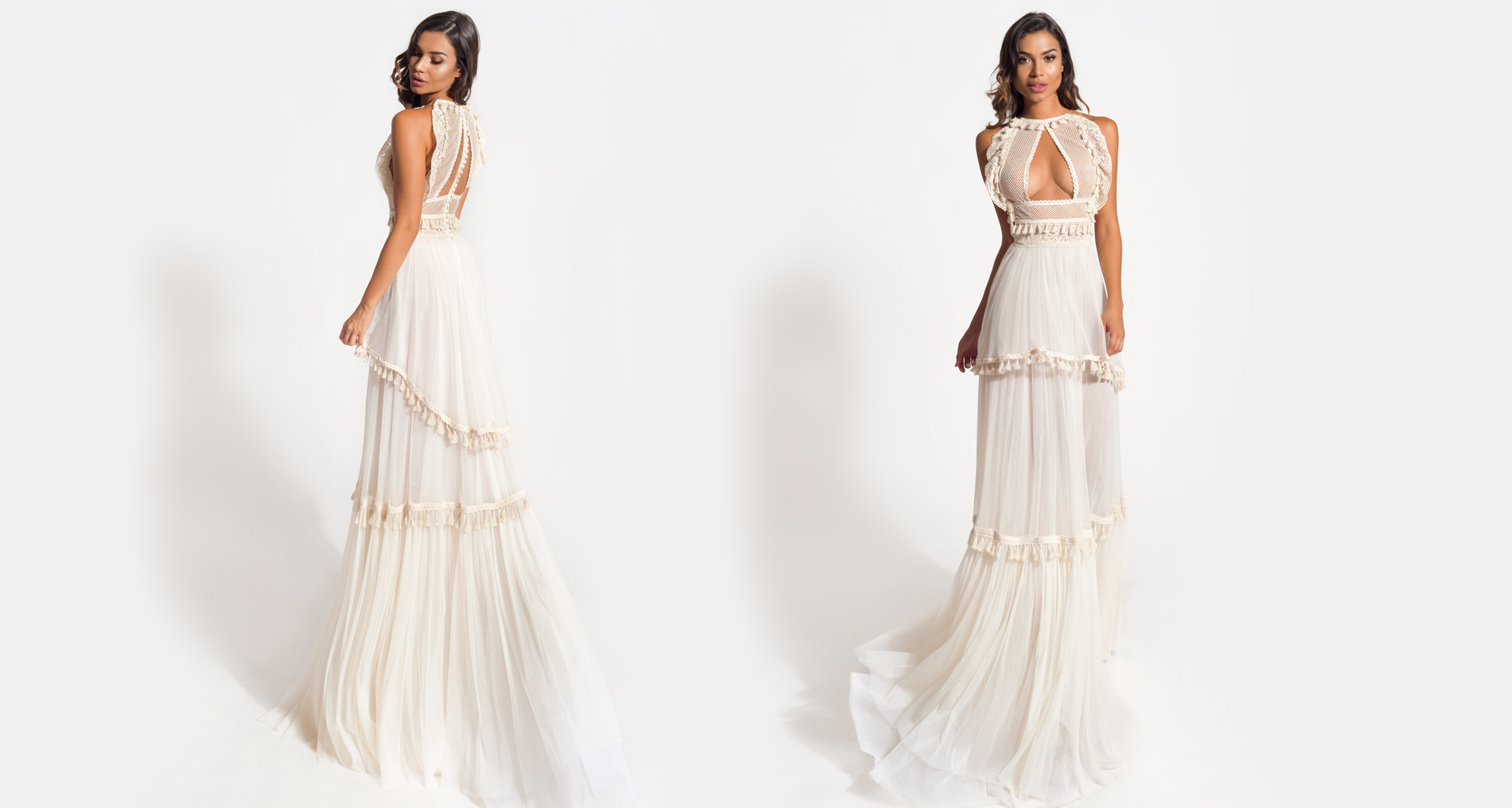 Philyra wedding dress from  Hellenic Vintage Origin Collection