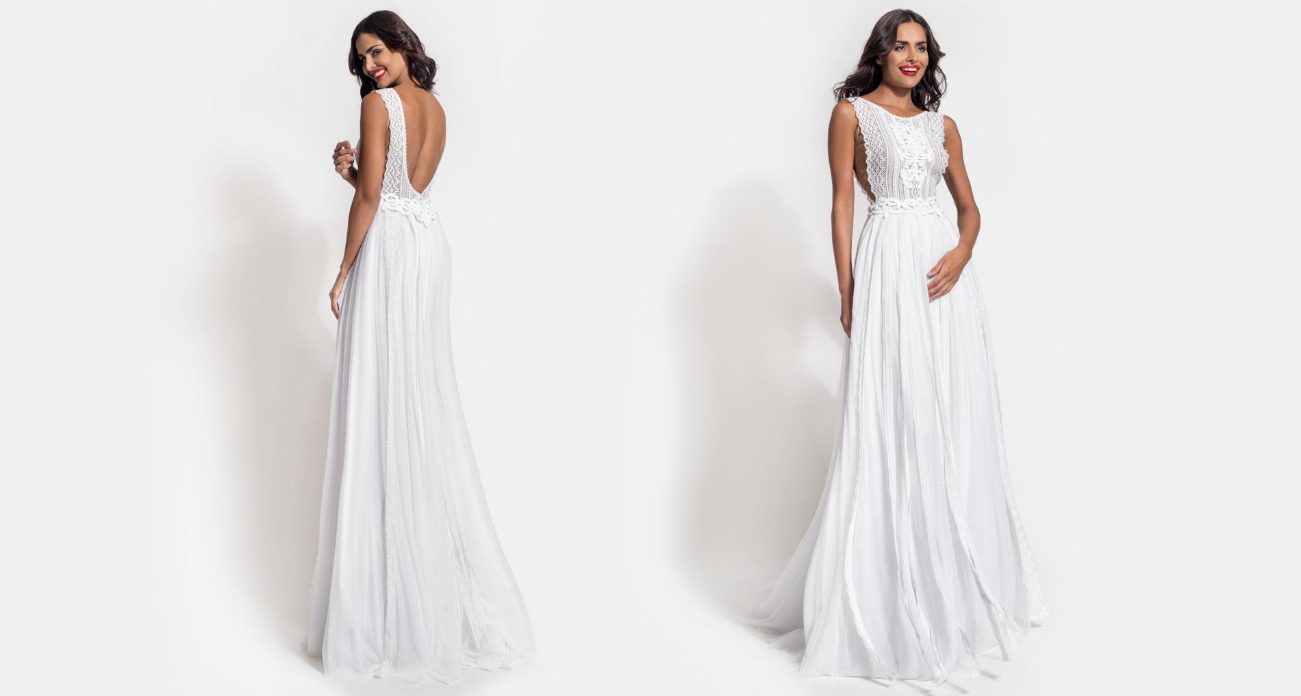 Rhea Essence wedding dress from  Hellenic Vintage Essence Collection