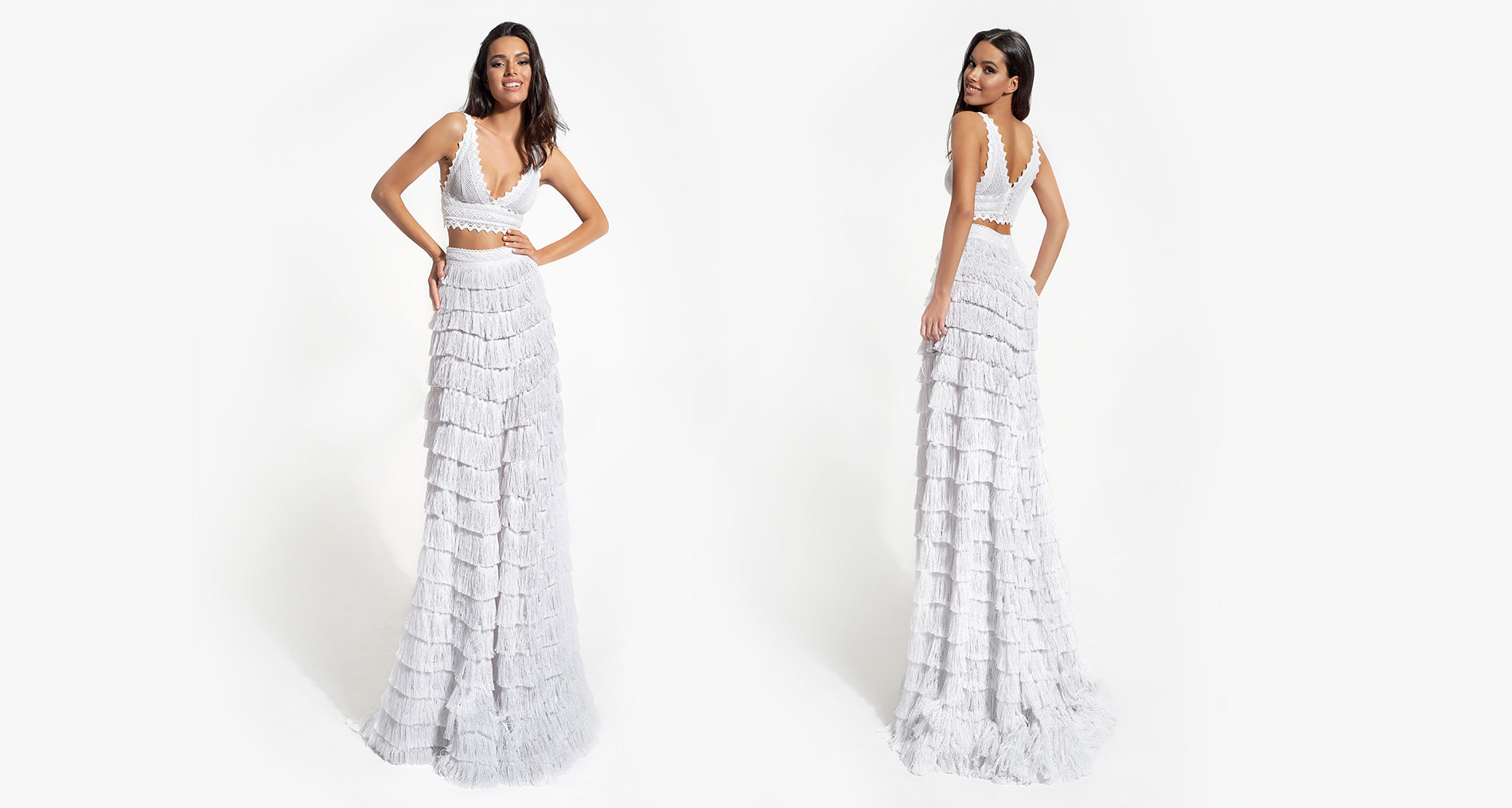 Soleia & Iovi wedding dress from  Hellenic Vintage White Collection