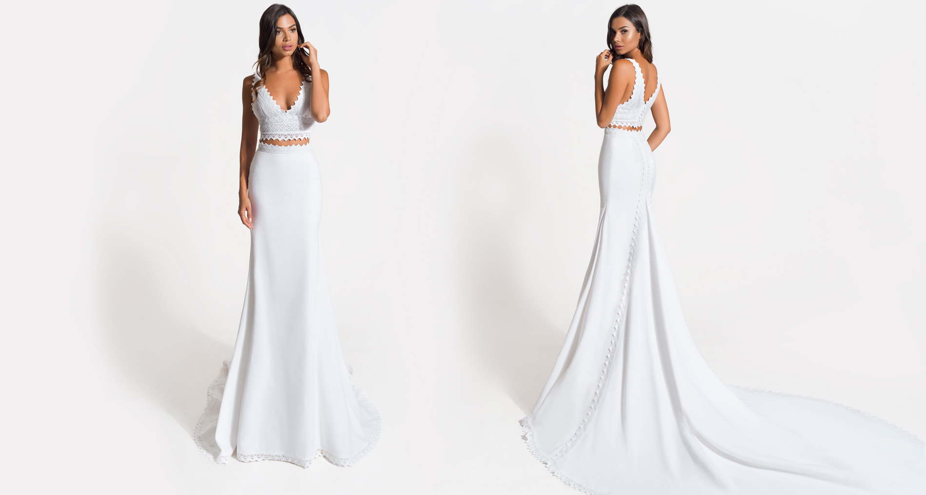 Soleia wedding dress from  Hellenic Vintage Origin Collection