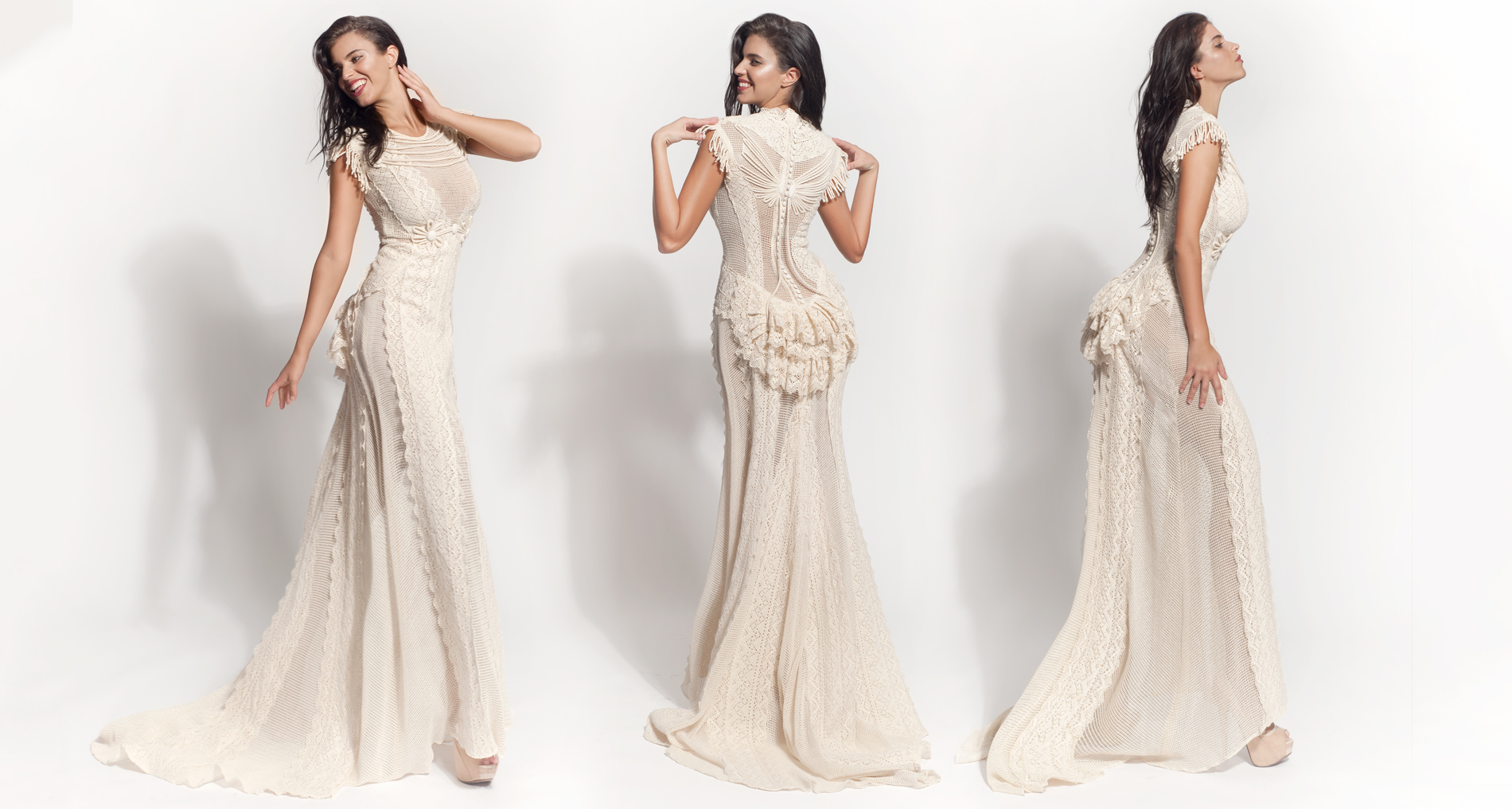 Thelia wedding dress from  Hellenic Vintage Core Collection